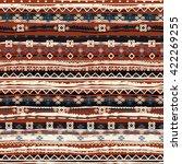 ethnic boho seamless pattern.... | Shutterstock .eps vector #422269255
