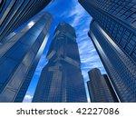 business buildings | Shutterstock . vector #42227086