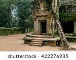 ancient temple in cambodia | Shutterstock . vector #422276935