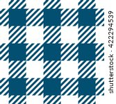 checkered pattern seamless... | Shutterstock .eps vector #422294539