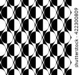 vector seamless geometric... | Shutterstock .eps vector #422300809