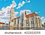 st. matthias church in budapest.... | Shutterstock . vector #422323255