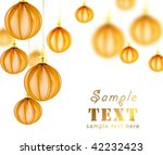 beautiful background with... | Shutterstock . vector #42232423