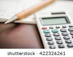 taxation and accounting concept ... | Shutterstock . vector #422326261
