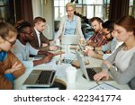 business group at meeting | Shutterstock . vector #422341774
