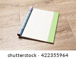 magazine pages | Shutterstock . vector #422355964