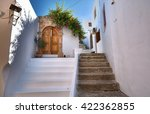 Narrow Alley And Traditional...