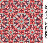 seamless pattern. decorative... | Shutterstock .eps vector #422363104