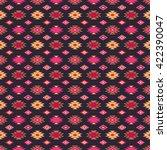 ethnic boho seamless pattern.... | Shutterstock .eps vector #422390047
