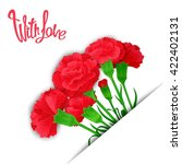 with love. elegant template of... | Shutterstock .eps vector #422402131