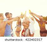 group of friends having a...   Shutterstock . vector #422402317