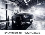 suv car at the carwash | Shutterstock . vector #422403631