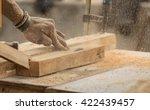 handmade and craft furniture... | Shutterstock . vector #422439457