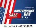 independence day sale banner... | Shutterstock .eps vector #422459827