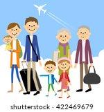 family travel | Shutterstock .eps vector #422469679