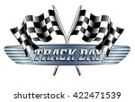 track day checkered  chequered