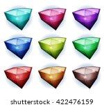 gemstones icons  illustration...