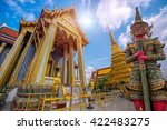 wat phra kaew  temple of the... | Shutterstock . vector #422483275