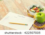 healthy eating  dieting ... | Shutterstock . vector #422507035