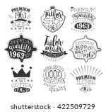 taylor shop vintage stamp... | Shutterstock .eps vector #422509729