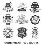 Car Wash Vintage Stamp...