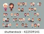 business people vector set   Shutterstock .eps vector #422539141