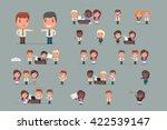 business people vector set | Shutterstock .eps vector #422539147