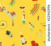 diwali   indian festival... | Shutterstock . vector #422542954