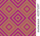 ethnic seamless pattern... | Shutterstock .eps vector #422571397