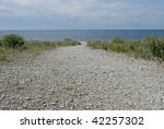 Image Of A Typical Beach With...