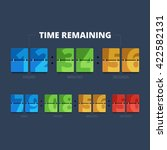 time remaining illustration.... | Shutterstock .eps vector #422582131