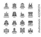 government  public building... | Shutterstock .eps vector #422589274