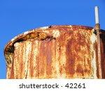 detail of a rusty metal tank... | Shutterstock . vector #42261
