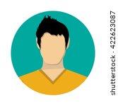 boy avatar icon.  | Shutterstock .eps vector #422623087