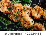 Delicious Roasted Shrimps On...