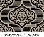 vector damask seamless pattern... | Shutterstock .eps vector #422635849