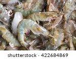 Small photo of Banana shrimp,Scientific name is Fenneropenaeus merguiensis (Penaeus merguiensis) Animalia Kingdom , Arthropoda Phylum , Malacostraca Class