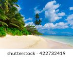 dream shore tranquility  | Shutterstock . vector #422732419
