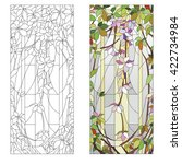 Stained Glass Window With...