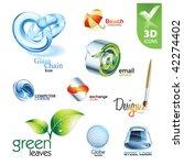 set of vector design elements...