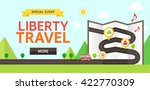 travel illustration | Shutterstock .eps vector #422770309