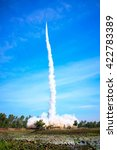 Small photo of UBON RATCHATHANI, THAILAND - JUNE 2: Rocket Festival held since 2013 (Boon Bung Fire) on JUNE 2, 2013, UbonRatchathani, Thailand