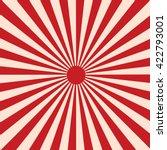 sun rays. japanese sun | Shutterstock .eps vector #422793001