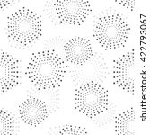abstract geometric pattern with ... | Shutterstock . vector #422793067