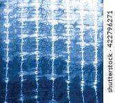 indigo blue tie dye vector... | Shutterstock .eps vector #422796271