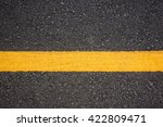 Yellow Line On The Road...