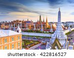 grand palace and wat phra keaw... | Shutterstock . vector #422816527