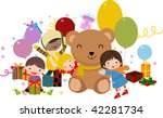 happy children | Shutterstock .eps vector #42281734