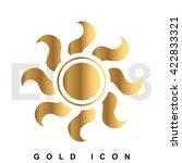 Golden Sun Premium Icon Graphi...