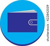 wallet icon vector illustration